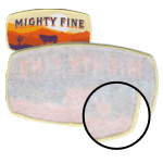 """Plastic Backing <br><p style=""""font-size: 11px;"""">(Non woven backing) This backing will give your patches<br> the upper hand in durability and stiffness. </p>"""