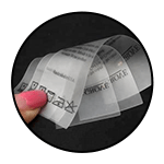 """Transparent TPU<br><p style=""""font-size: 11px;""""> Material – rubber like material <br>which is waterproof <br>and tear resistant</p>"""