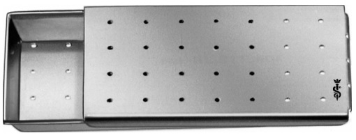 AE-BL910R, NEEDLE CASE PERFORATED 50 x 25 x 5 mm