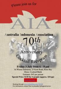 AIA 70th Anniversary