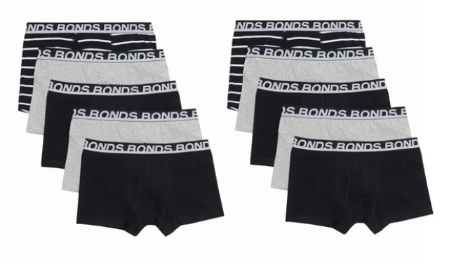 From $29.95 for Bonds Everyday and Guyfront Trunks: 3 ($29.95), 6 ($49.95) or 10 ($69.95)(Dont Pay Up to $169.90)