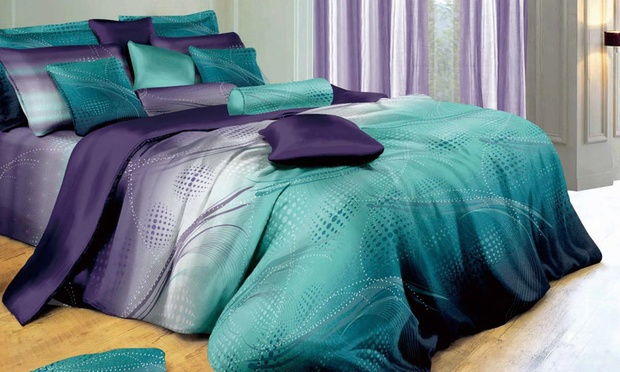 Artistic Quilt Cover Set: Single ($39), Double ($45), Queen ($49), King ($59) or Super King ($79)