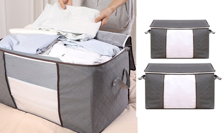 Two Piece Quilt Storage Bag Set: One Set ($19), Two Sets ($29) or Four Sets ($49)
