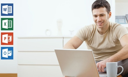 $29.95 for Complete Microsoft Office Course Package at New Skills Academy (Up to $499 Value)