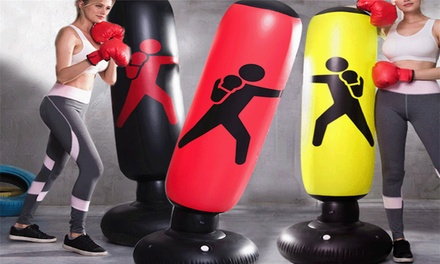 $26 for an Inflatable Standing Boxing Punch Bag