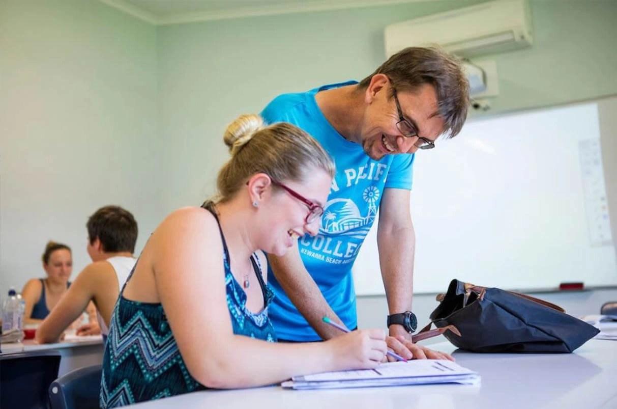 Sun Pacific College – 陽光太平洋國際學院(SPC) - 上課過程2