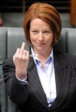 Gillard's attitude to Australians