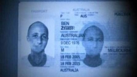 Ben Zygier's Australian Passport