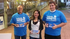Liberal candidate Isabelle White