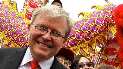 Rudd - more Chinese the better