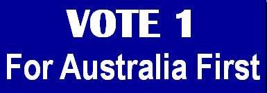Vote 1 Australia First