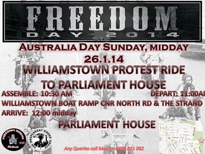 Freedom Day 2014 Melbourne