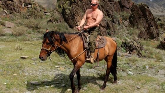 Putin Man Boobs