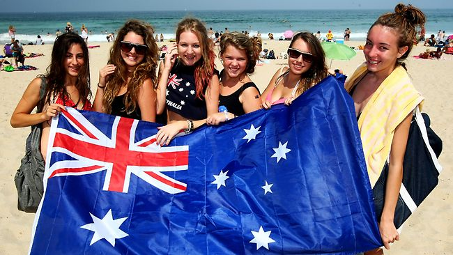 Australia Day in Cronulla