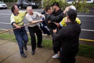 CFMEU Brisbane Assault