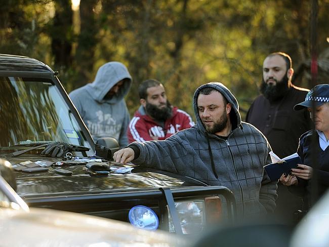 Muslims acting suspiciously