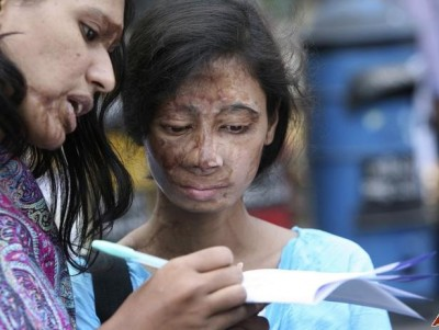Bangladeshi Muslim punishment for non payment of Dowry