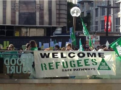 Marrickville Greens for more Asylum Seekers