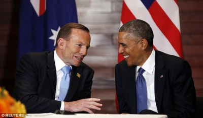 Abbott an Obama patsy