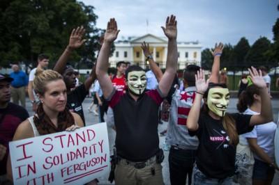 Antifa in Ferguson