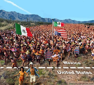 Obama Latino Invasion