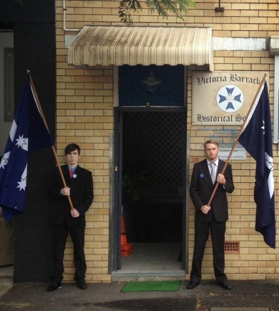 AFP Brisbane Honourguard
