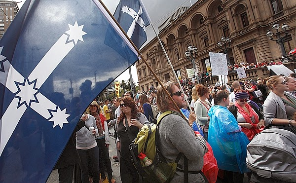 Rally to Protect Decent Australian Wages
