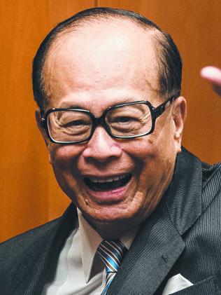 Billionaire Li Ka-Shing