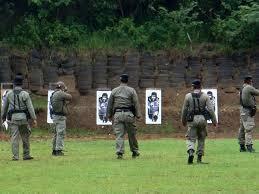 Jokowi Firing Squad Practice
