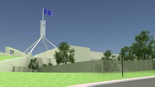 Australian Parliament Security