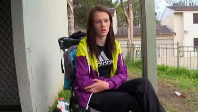Bailee (16) depicted on Struggle Street