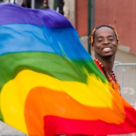 Rainbow Flag Stolen by Perverts