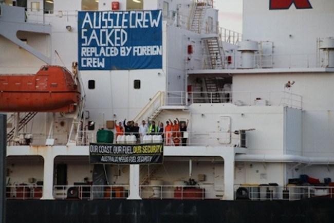 Alexander Spirit Aussie Crew Sacked by Caltex