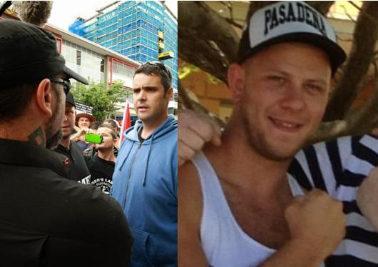 CFMEU Joe Myles and Luke Collier