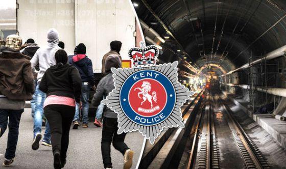 Channel Tunnel swarm