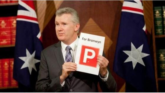 Hypocrite Tony Burke MP