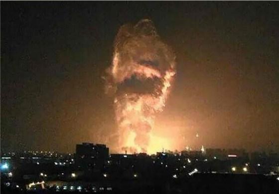 Tianjin Cyanide Explosion