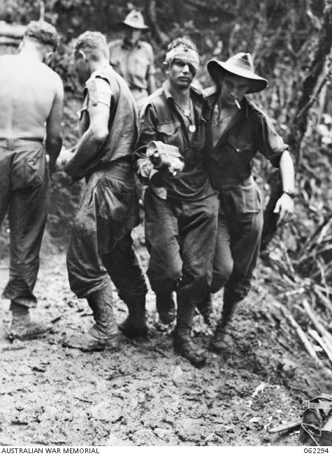 Australian Diggers in New Guinea
