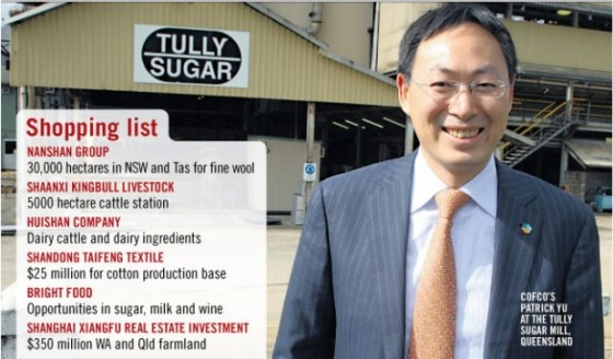 Chinese buying up rural Australia