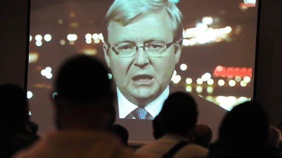 Rudd lured Islam