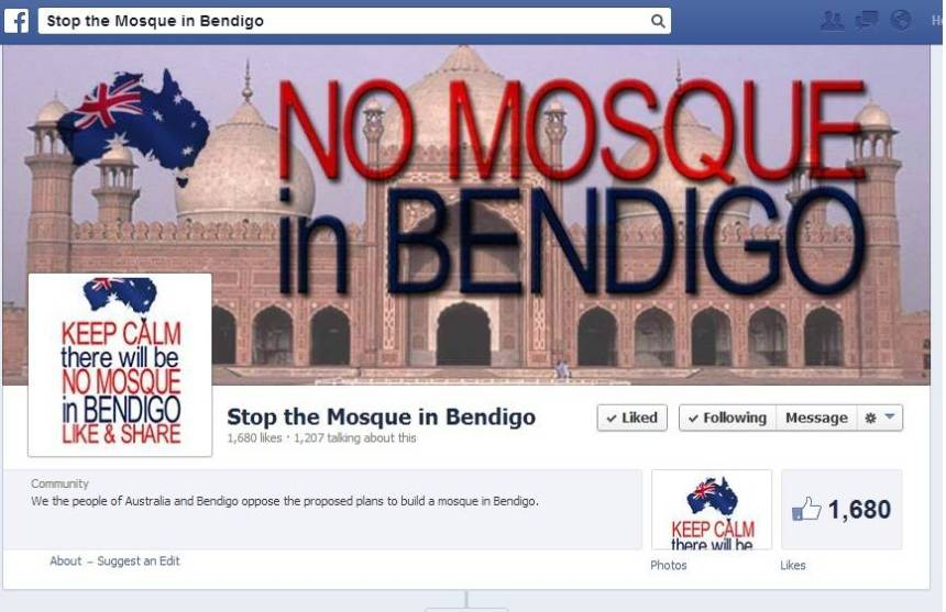 Stop the Mosque