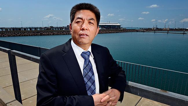 Chinese billionaire Ye Cheng, chairman of the Landbridge Group
