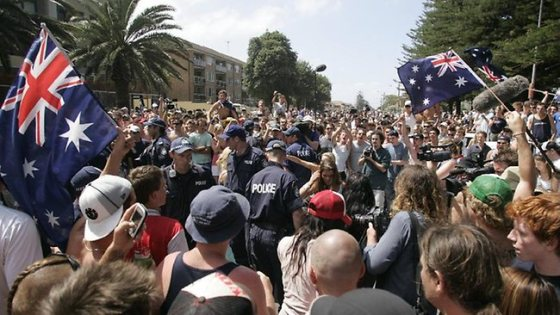 Cronulla Civil Uprising against invading Leb Gangs