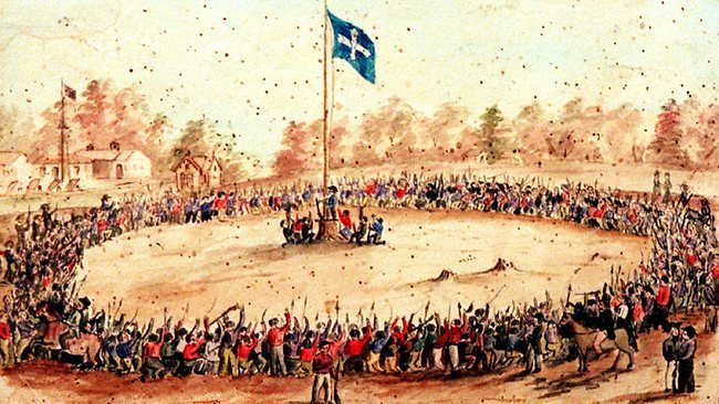 Eureka Rebellion December 1854
