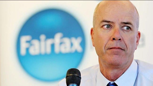 Fairfax Media propagandist CEO Colin Hywood