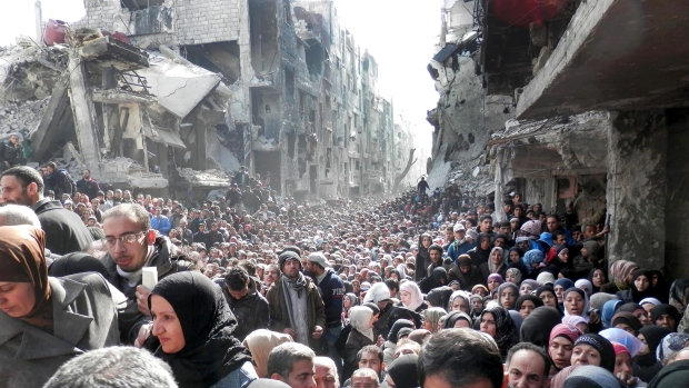 Syrian Muslims pushed to Western Welfare