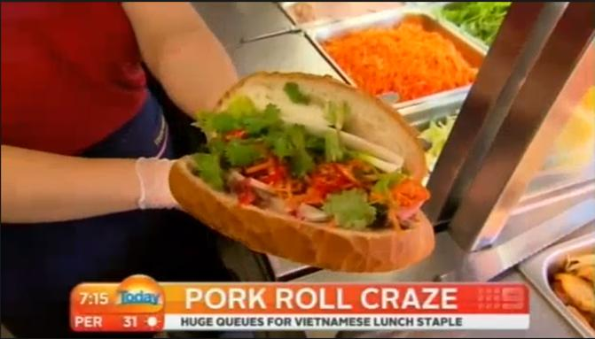 Vietnamese Pork Roll (banh mi thit)