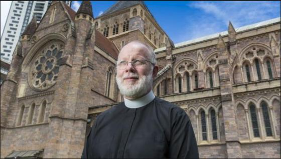 Reverend Peter Catt, Anglican Dean of Brisbane
