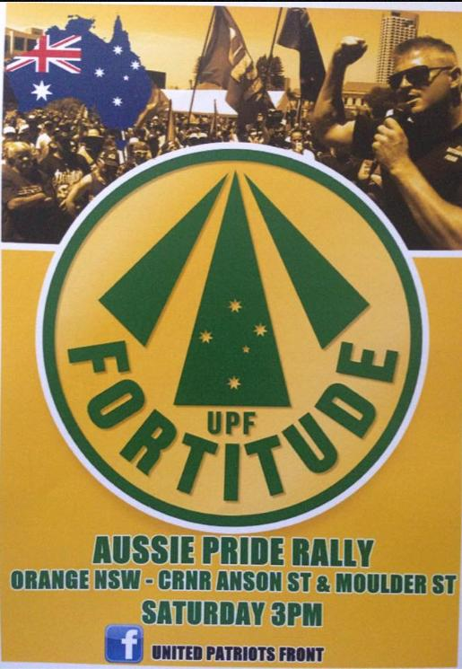 UPF Rally in Orange Feb 20, 2016