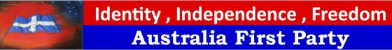 Australia First Campaign Logo